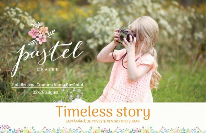 Timeless Story, girl with camera